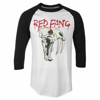 Herren 3/4 Arm Shirt Red Fang - Fang - Weiß - INDIEMERCH, INDIEMERCH, Red Fang