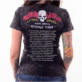 Damen T-Shirt Hardcore - ANGEL REVENGE IS SWEET - LETHAL THREAT, LETHAL THREAT