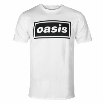 Herren-T-Shirt Oasis - Decca Logo - Weiß, NNM, Oasis