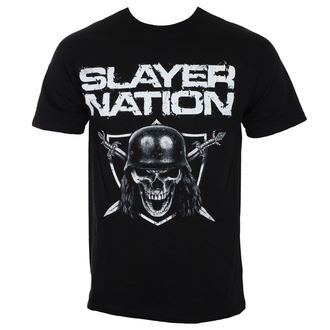 Herren T-Shirt Metal Slayer - NATION 2014 DATEBACK - ROCK OFF, ROCK OFF, Slayer