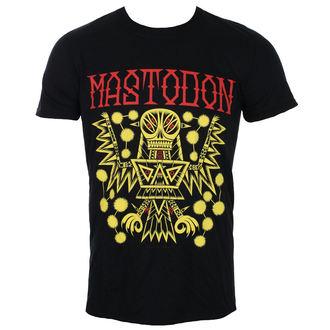Herren T-Shirt Metal Mastodon - TRIBAL DEMON 2017 EVENT BACK BLACK - ROCK OFF, ROCK OFF, Mastodon