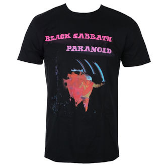 Herren T-Shirt Metal Black Sabbath - Paranoid Motion Trails - ROCK OFF, ROCK OFF, Black Sabbath