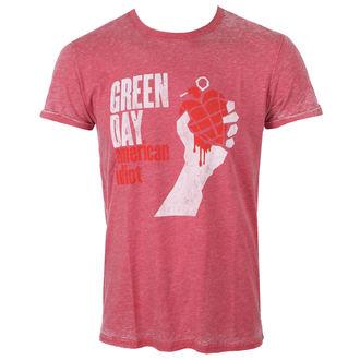 Herren T-Shirt Metal Green Day - American Idiot - ROCK OFF, ROCK OFF, Green Day