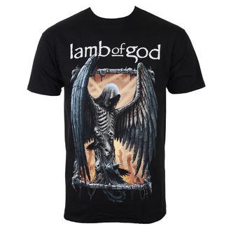 Herren T-Shirt Metal Lamb Of God - Winged Death - ROCK OFF, ROCK OFF, Lamb of God