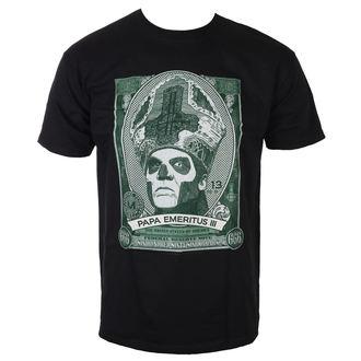 Herren T-Shirt Metal Ghost - Papa Cash - ROCK OFF, ROCK OFF, Ghost