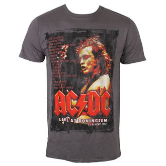 Herren T-Shirt Metal AC-DC - Donington Set List - ROCK OFF, ROCK OFF, AC-DC