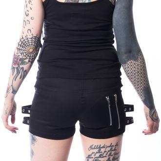 Damen Shorts CHEMICAL BLACK - RIKA - SCHWARZ, CHEMICAL BLACK