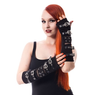 Forearms Arm Warmers POIZEN INDUSTRIES - RIOT ARMWARMERS - SCHWARZ, POIZEN INDUSTRIES