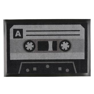Fußmatte Tape Tonband - Schwarz / Grau - Rockbites, Rockbites