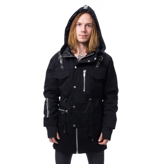 Herren Jacke HEARTLESS - ROMAN - SCHWARZ, HEARTLESS