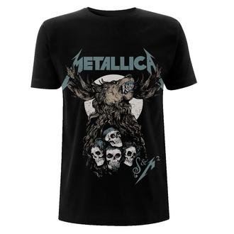 Herren T-Shirt Metallica - S&M2 Skulls - Schwarz, NNM, Metallica