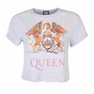 Damen T-Shirt (Top) QUEEN - COLOUR CREST - PURPEL PHAZE - AMPLIFIED, AMPLIFIED, Queen