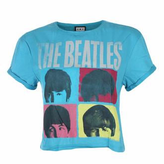 Damen T-Shirt (Top) THE BEATLES - HARD DAY'S NIGHT - TEAL PANTHER - AMPLIFIED, AMPLIFIED, Beatles