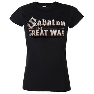 Damen T-Shirt Metal Sabaton - The great war - NUCLEAR BLAST, NUCLEAR BLAST, Sabaton