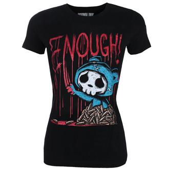Damen T-Shirt AKUMU INK - ENOUGH!, Akumu Ink