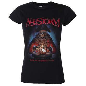 Damen T-Shirt Metal Alestorm - Curse of the Crystal Coconut - NAPALM RECORDS, NAPALM RECORDS, Alestorm
