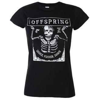 Damen T-Shirt The Offspring - Dance Fucker Dance - Schwarz, NNM, Offspring