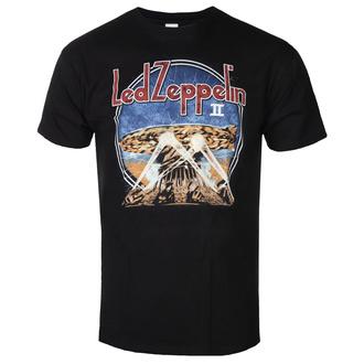 Herren T-Shirt Led Zeppelin - LZII Searchlights - Schwarz, NNM, Led Zeppelin