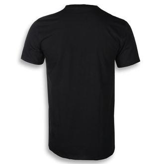 Herren T-Shirt Metal Kiss - Classic Logo - ROCK OFF, ROCK OFF, Kiss