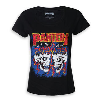 Damen T-Shirt Metal Pantera - Domination - ROCK OFF, ROCK OFF, Pantera
