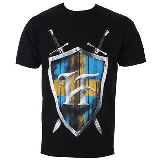 Herren T-Shirt Metal Hammerfall - Swedish Steel - NAPALM RECORDS, NAPALM RECORDS, Hammerfall