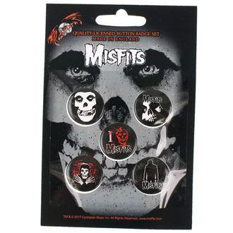 Ansteckbutton Set Misfits - RAZAMATAZ, RAZAMATAZ, Misfits