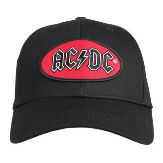 Kappe Cap AC / DC - Oval Logo - ROCK OFF, ROCK OFF, AC-DC