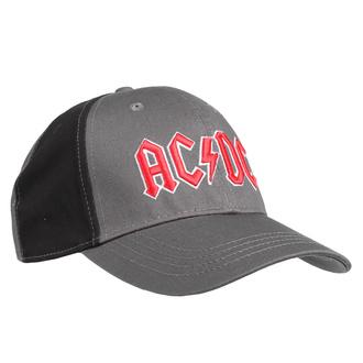 Kappe Cap AC / DC - Red Logo - VERKOHLEN / BL - ROCK OFF, ROCK OFF, AC-DC