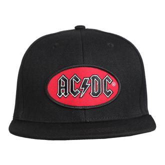 Kappe Cap AC / DC - Oval Logo BL - ROCK OFF, ROCK OFF, AC-DC