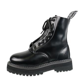 Herren Lederschuhe Boots - GRINDERS, GRINDERS