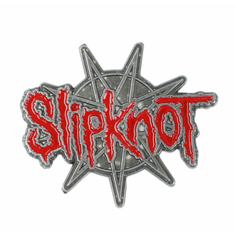 Pin SLIPKNOT - 9zackiger Stern, RAZAMATAZ, Slipknot