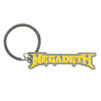 Schlüsselanhänger (Anhänger) MEGADETH - LOGO, RAZAMATAZ, Megadeth