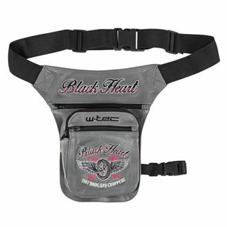Tasche (Brusttasche/ Hüfttasche) BLACK HEART, BLACK HEART