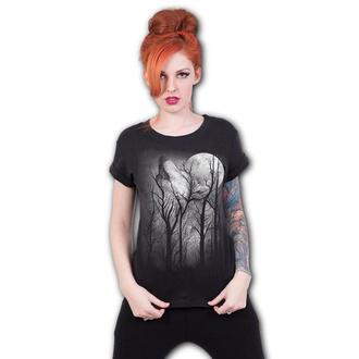 Damen T-Shirt - FOREST WOLF - SPIRAL, SPIRAL