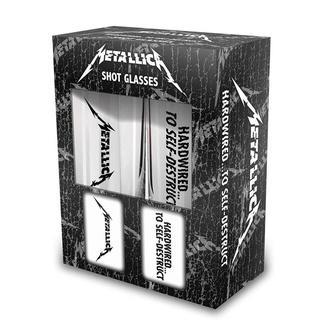 Schnapsgläser Set Metallica - Hardwired - RAZAMATAZ, RAZAMATAZ, Metallica