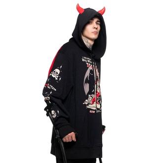 Unisex Sweatshirt KILLSTAR - Sie Devil - Schwarz, KILLSTAR