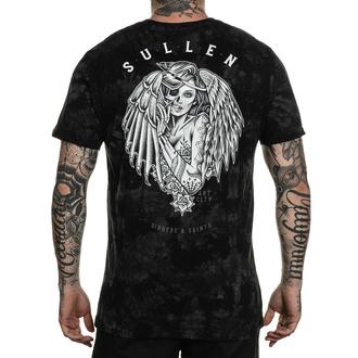Herren T-Shirt SULLEN - SINNERS & SAINTS - SCHWARZ / GRAU KRISTALL, SULLEN