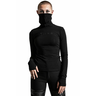Damen-T-Shirt langarm KILLSTAR - Sit & Spin Turtleneck - Schwarz, KILLSTAR
