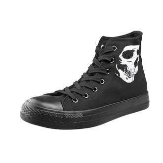 Unisex Low Sneakers - Skull 2 - AMENOMEN - OMEN111TRAMP