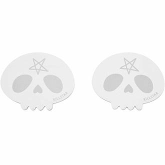 Selbstklebepad KILLSTAR - Skully - Schwarz, KILLSTAR