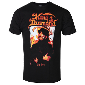 Herren T-Shirt Metal King Diamond - IN HELL - PLASTIC HEAD, PLASTIC HEAD, King Diamond