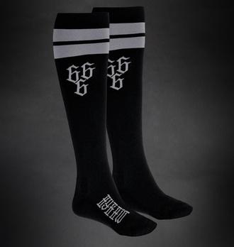 Kniestrümpfe Socken HYRAW - 666 - GRAU, HYRAW