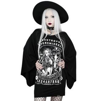 Damen T-Shirt (Tunika) KILLSTAR - Spellcaster Kimono - SCHWARZ - KSRA001821