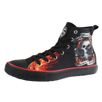 Unisex High Top Sneakers - SPIRAL, SPIRAL