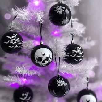 Weihnachtsdekoration (Bälle) KILLSTAR - Spooky - Hexmas Kugeln, KILLSTAR