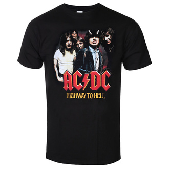 Herren T-shirt AC/DC - Highway To Hell - GrouP, BIL, AC-DC