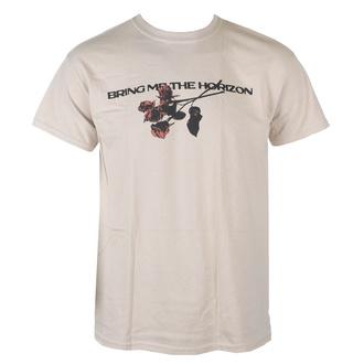 Herren T-Shirt Bring Me The Horizon - Flowers - SAND - ROCK OFF, ROCK OFF, Bring Me The Horizon
