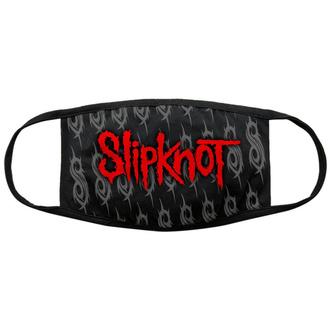 Maske Mundmaske Slipknot - Red Logo & Sigils - BL - ROCK OFF, ROCK OFF, Slipknot
