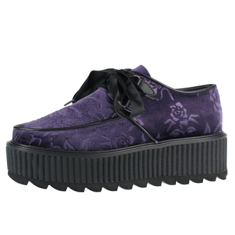 Damenstiefel KILLSTAR - Vampires Kiss Creepers - PFLAUME, KILLSTAR