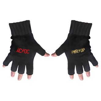 Fingerlose Handschuhe AC / DC - POWER UP - Logo - RAZAMATAZ, RAZAMATAZ, AC-DC